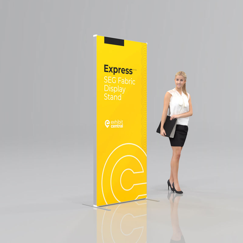 Express SEG Fabric Display Stand - 0.85 x 2m