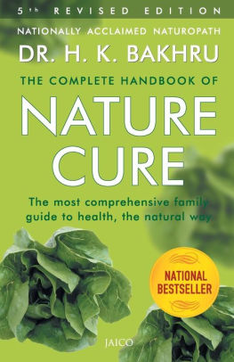 The Complete Handbook of Nature Cures