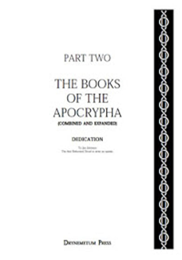 Reformed Druids - Anthology 02 Books of the Apocrypha
