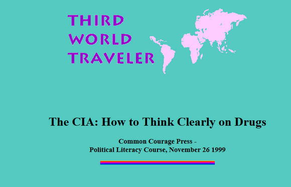 The CIA: How to Think Clearly on Drugs.