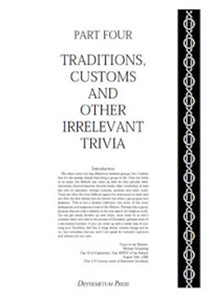 Reformed Druids - Anthology 04 Laws, Trivia and Calendars