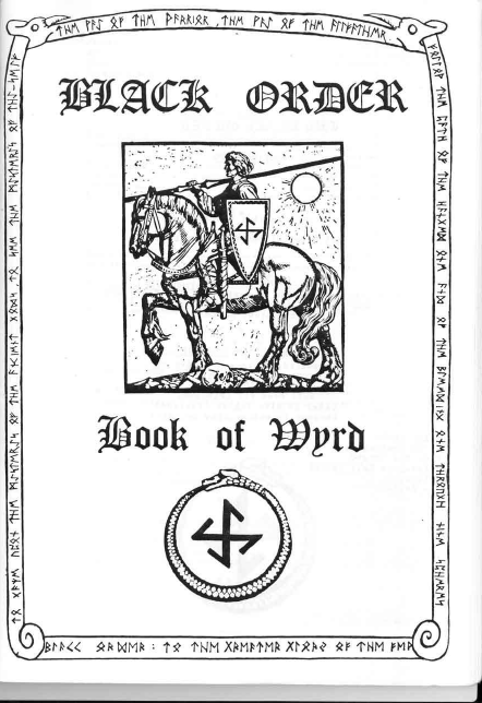 ONA (The Black Order) - Book of Wyrd