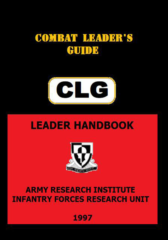 U.S. Army - Combat Leader's Field Guide