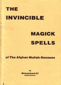 Muhammad Ali - Invincible Magick Spells Of The Afghan Mullah-Sensees