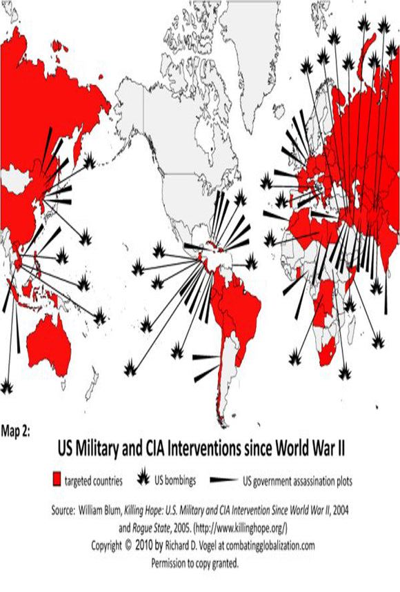 A century of US Military Interventions