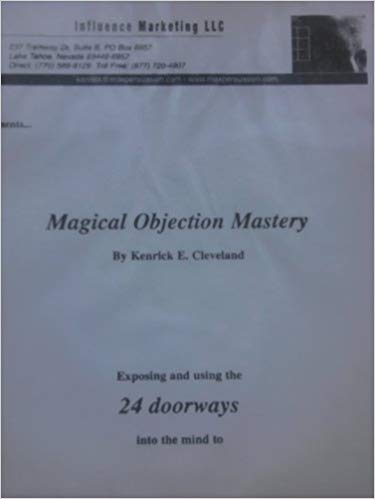 Kenrick Cleveland  - Magical Objection Mastery