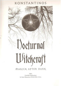Konstantinos  - Nocturnal Witchcraft: Magick After Dark