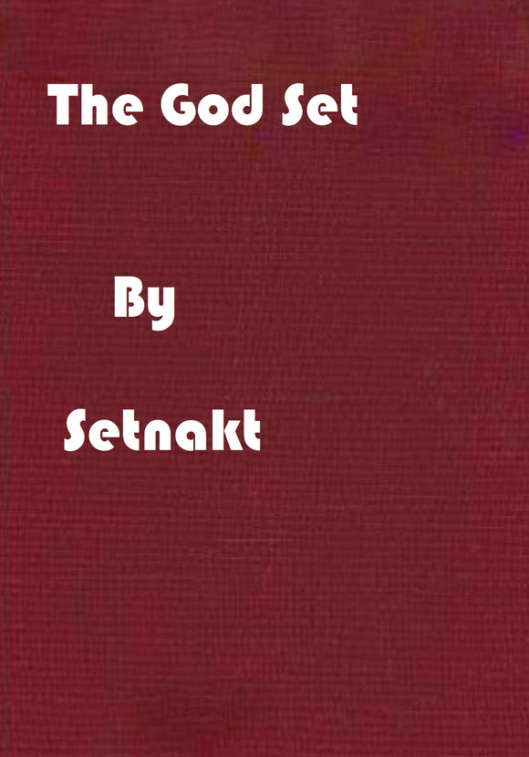 Setnakt - The God Set