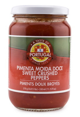 Taste of Portugal Sweet Pepper Paste (Pimenta) 370gr