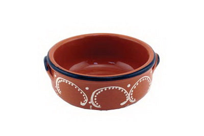 Traditional Clay - Soup Bowl (Alentejana) 6.25x7x1.5in