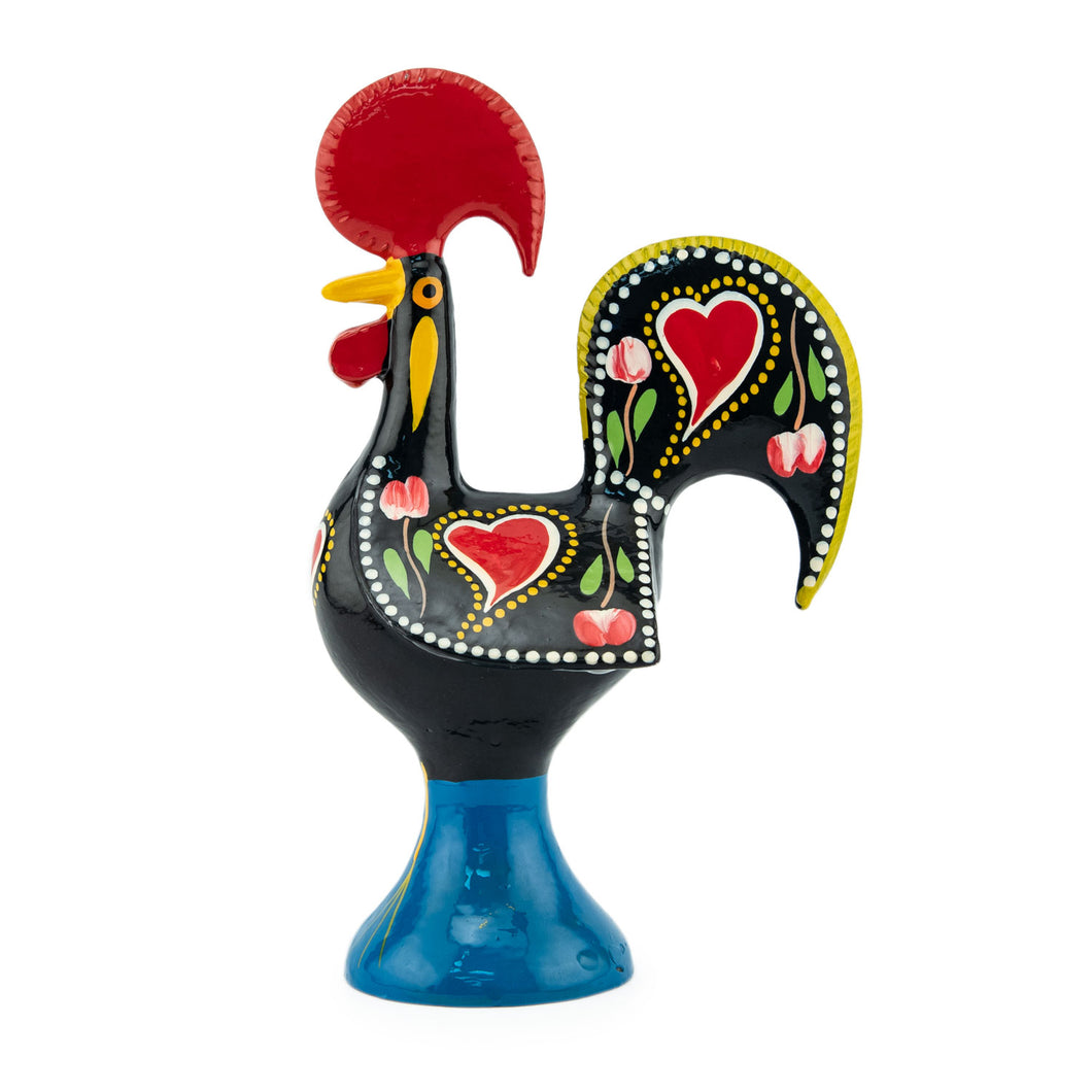 Barcelos Rooster - Metal - Black