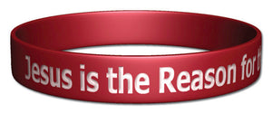 Silicone Bracelet - Jesus is the Reason for the Season