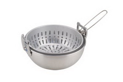 Deep Fryer - Aluminum 2 piece 10in