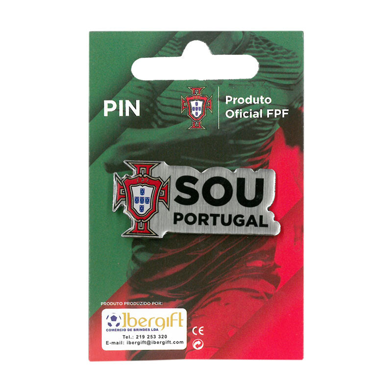 Portugal - Coat of Arms/Sou Portugal (Quinas) Lapel Pin