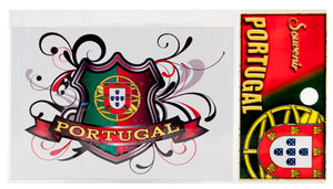 Sticker - Portugal Coat of Arms (Quinas) 7x10cm