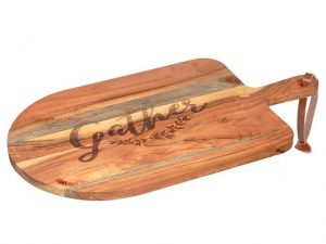 Paddle Cutting/Charcuterie Board (Gather) 22x12x1in