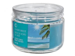 Scented Candle in Glass Jar 3oz. - Seaside Breeze