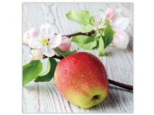 Paper Luncheon Napkin Pk/20 Fresh Apple