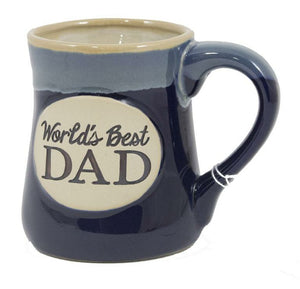 Stoneware Mug 18oz. - World's Best Dad