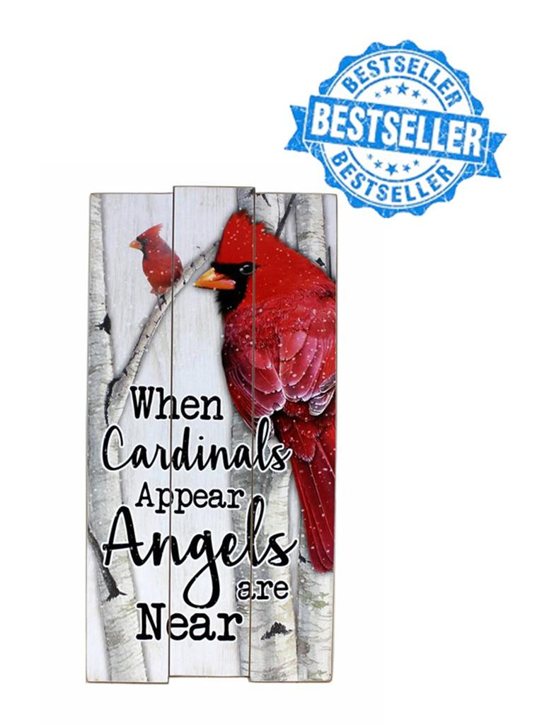 Cardinal MDF Wall Plaque 0.4x11.75x23in
