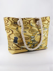 Tote Bag - Oil Painting Design - Tree of Life (Klimt)