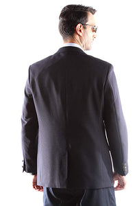 Bolzano Men's Single Breasted Two Button Blazer in NAVY 303, Style J600312C