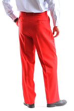 Load image into Gallery viewer, Bolzano Men's 2 Button Notch Lapel 2pc Suit Regular fit style S600212N in Red Color (free shipping)