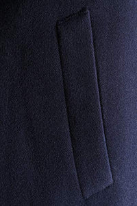 "Caravelli Men's Poly/viscose/spandex Single Breasted 2 Button 3/4 Length Topcoat (42R 37.5"" Length) Style L600912E in Navy 903"
