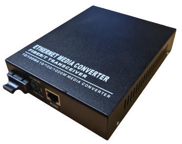 Media Converter 10/100 Base RX-TX Multimode 2 Km. int. PW