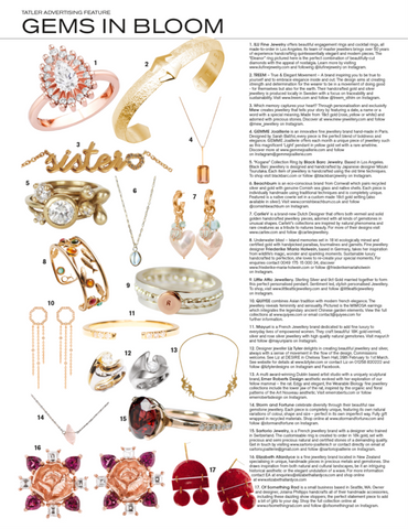 bague veda article Tatler