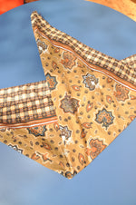 Retro- Patterned- Bandana- Scarf - Goodleafvintage