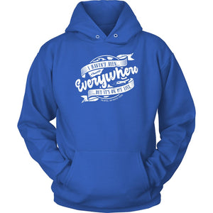 I Haven't Been Everywhere But It's On My List (Hoodie) T-shirt teelaunch Unisex Hoodie Royal Blue S