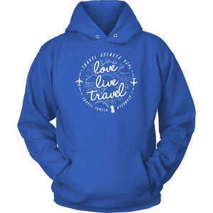 Love Live Travel (Hoodie) T-shirt teelaunch Unisex Hoodie Royal Blue S