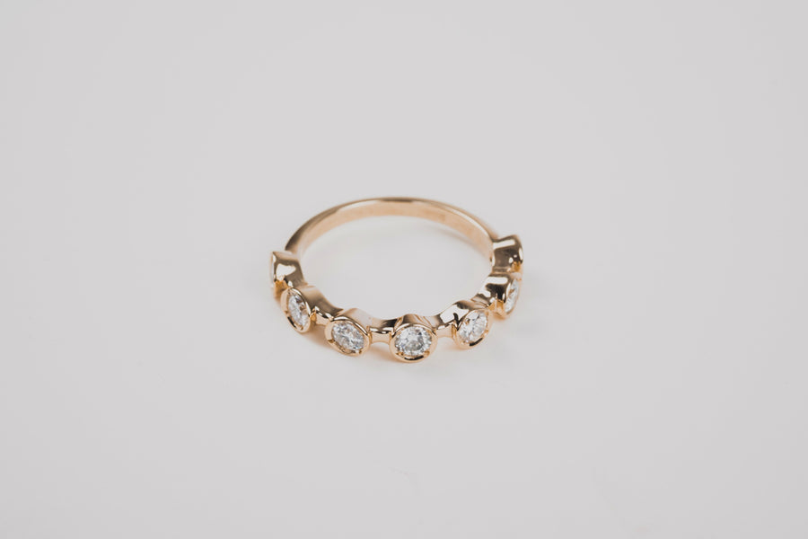 Diamond Station Ring
