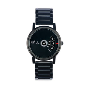 """Black Warrior"" Men's Fashion Watch from the Ninja Collection - Nathan Lee Online"