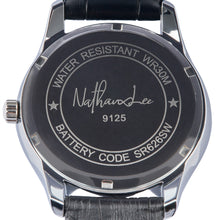 "Load image into Gallery viewer, ""Black Fire"" Men's Fashion Watch from the Smooth Operator Collection - Nathan Lee Online"