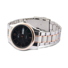 "Load image into Gallery viewer, Bold Eminence ""Black Desire"" Men's Rose Gold, Silver, and Black Fashion Watch - Nathan Lee Online"