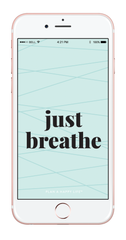 Just Breathe Wallpaper