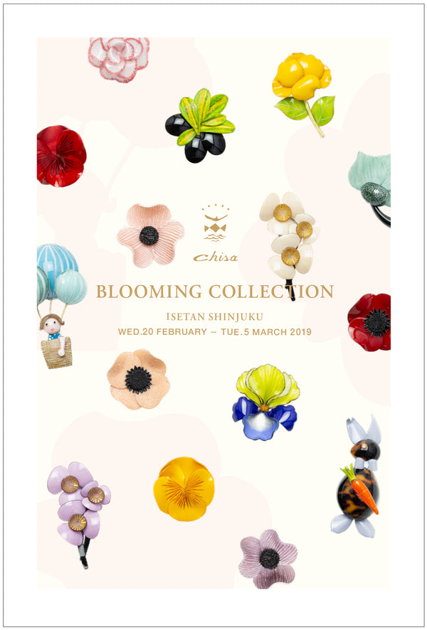 chisa BLOOMING COLLECTION in ISETAN