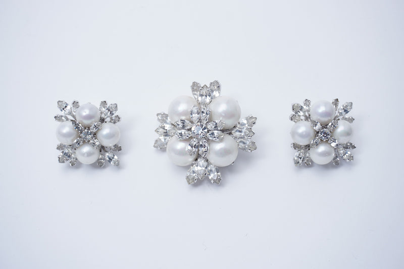 Brooch&Earring set