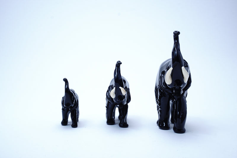 Elephant family black