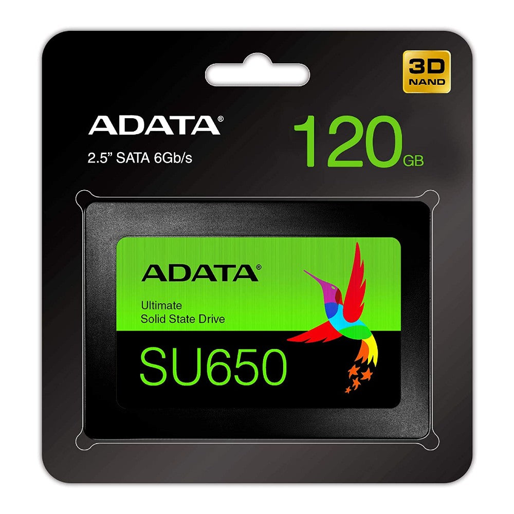 "ADATA Ultimate SU650 120GB 2.5"" SATA III Internal SSD"
