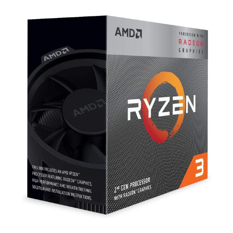 AMD Ryzen 3 3200G Processor with Radeon Vega 8 Graphics