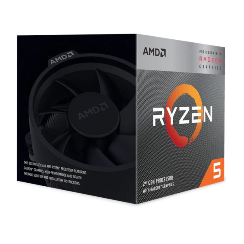 AMD Ryzen 5 3400G Processor with Radeon RX Graphics