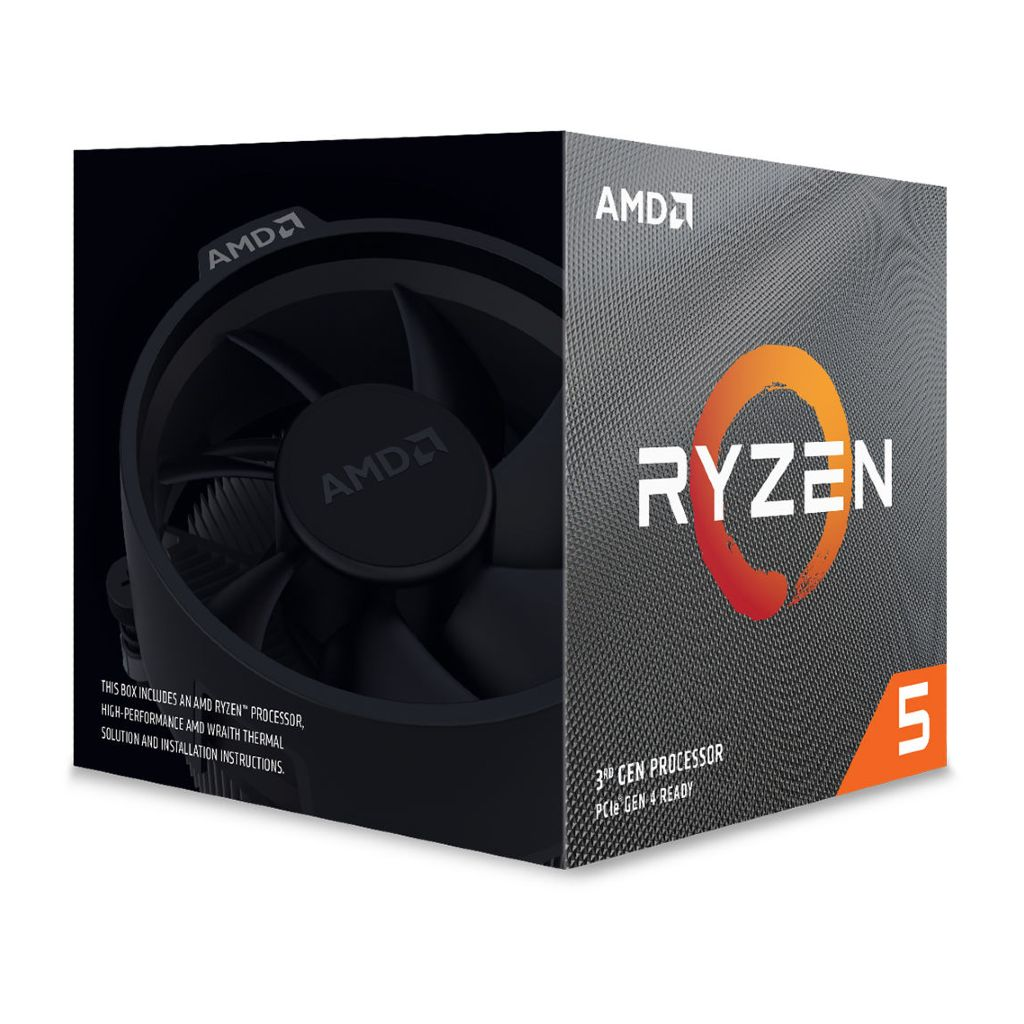 AMD Ryzen 5 3600X Processor with Wraith Spire Cooler