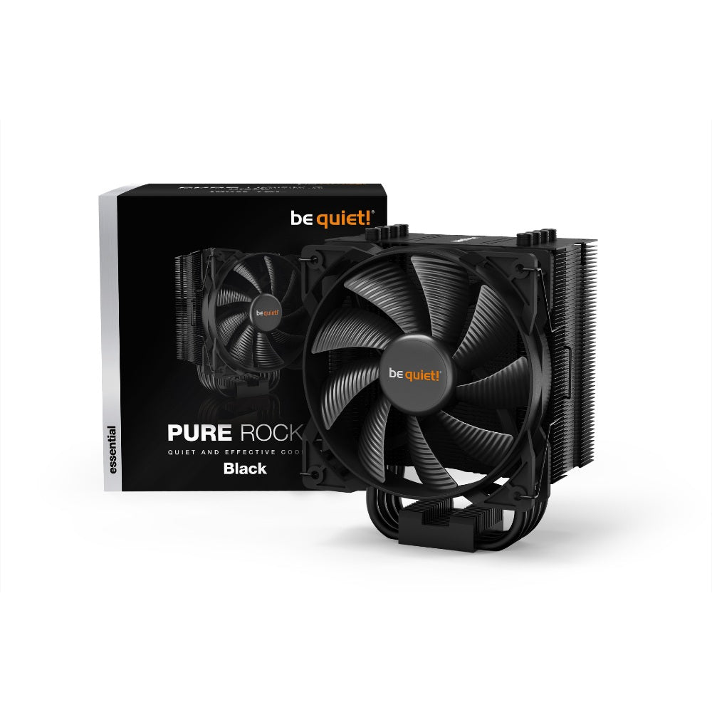 BEQUIET! PURE ROCK 2 BLACK CPU COOLER