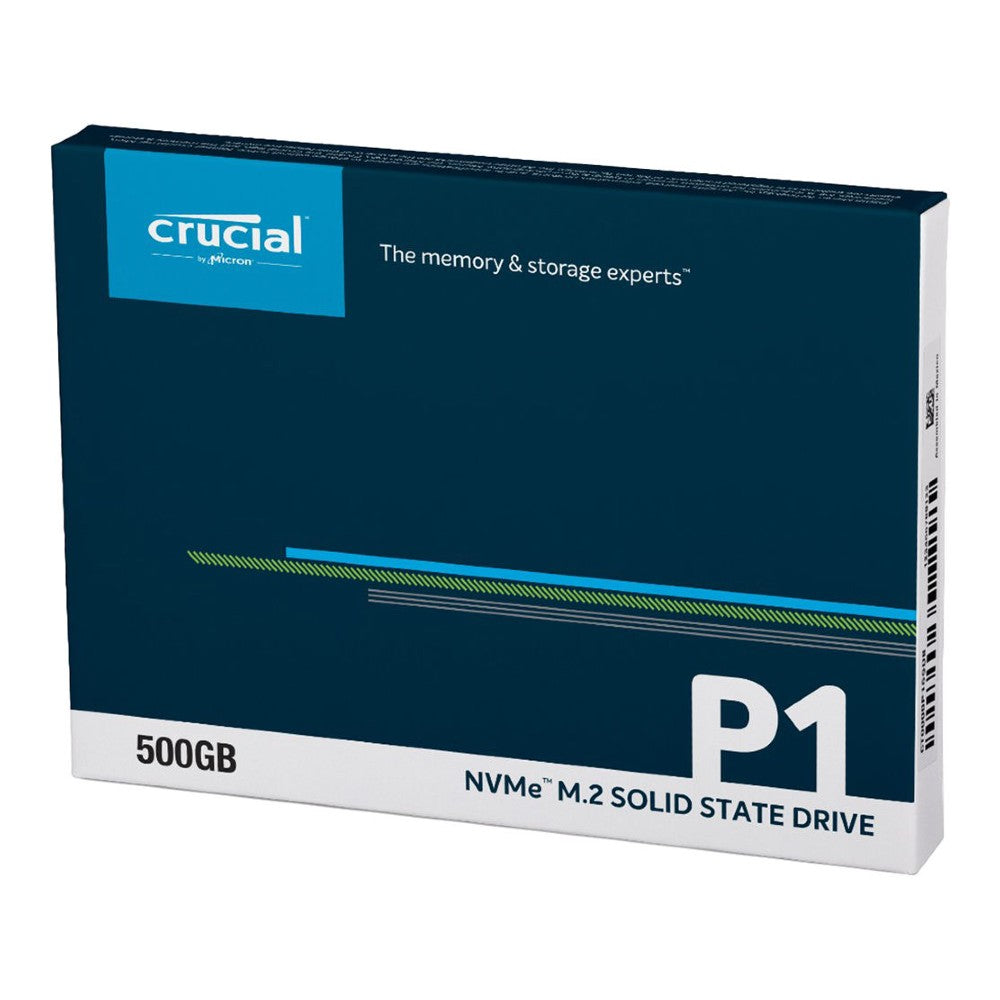 Crucial P1 500GB PCIe NVMe M.2 2280 Internal SSD