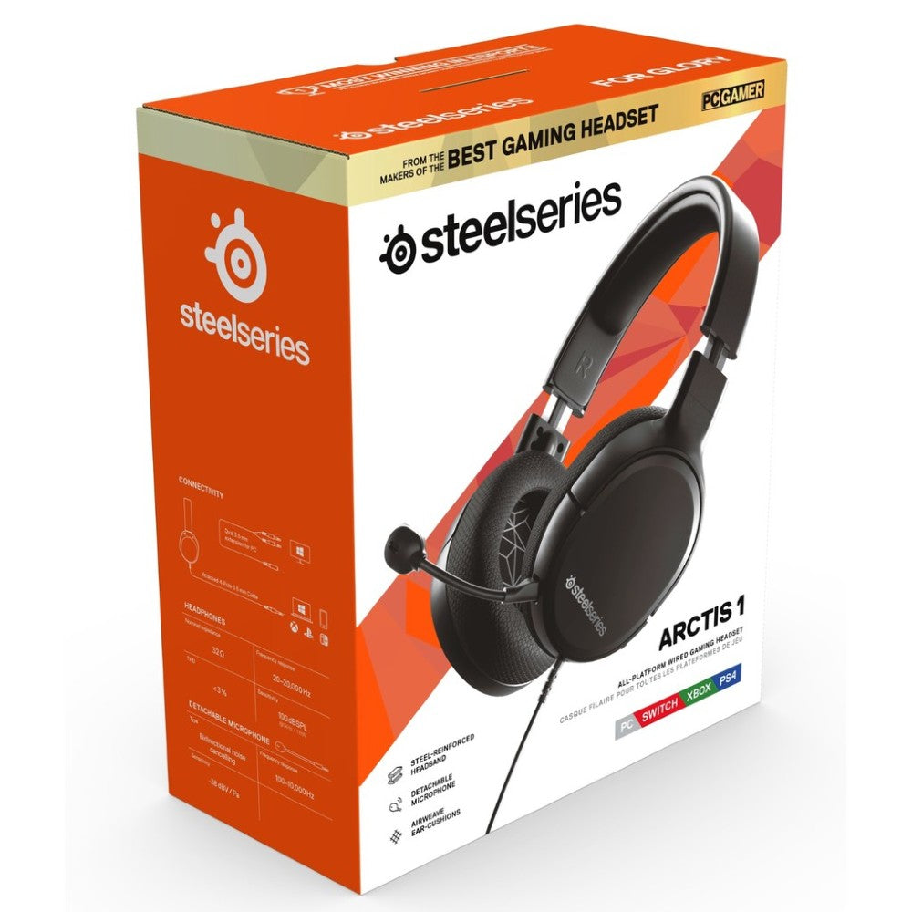 SteelSeries Arctis 1 Gaming Headset - Black