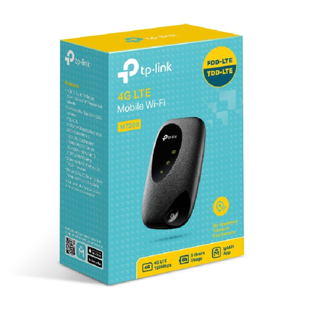 TP-Link M7200 4G LTE Portable Mobile Wi-Fi Modem Router