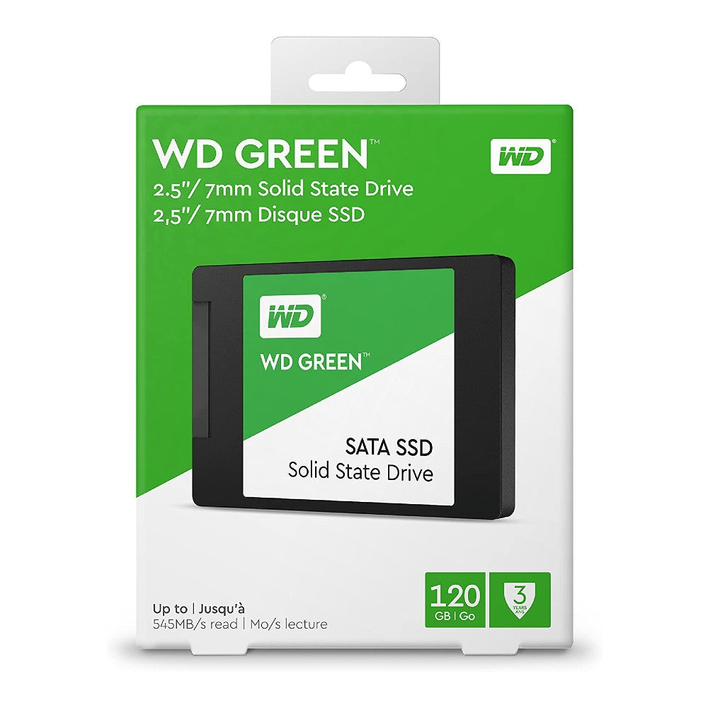 "WD Green 120GB 2.5"" SATA III Internal SSD"